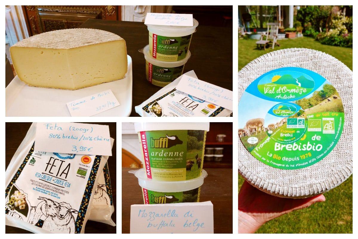 nouveauté au rayon crèmerie - fromages - nivelles épicerie vrac